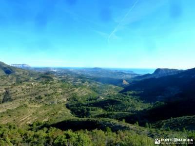 Peñón Ifach;Sierra Helada;Puig Campana;Sierra Bernia;agencia de excursiones viajes excursiones exc